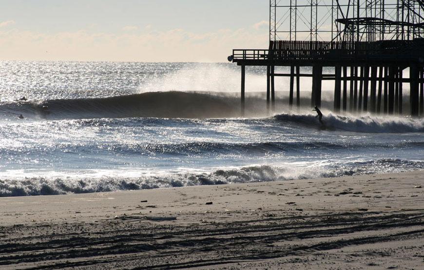 NJ Winter Surfing Photos December