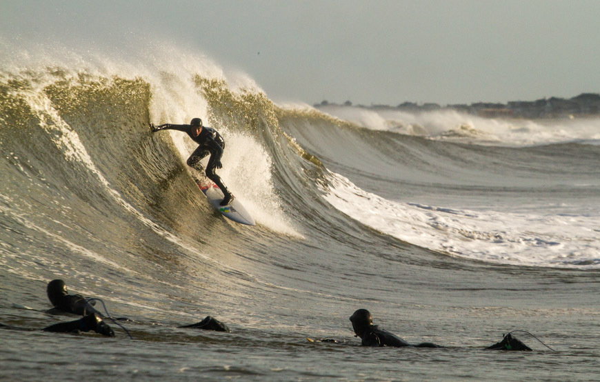 Surfing Monmouth New Jersey