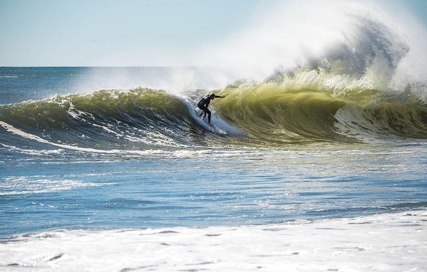 September Surfing Bay Head