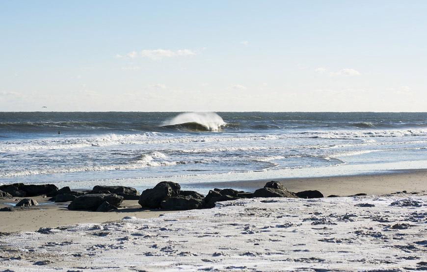 Ocean City NJ Winter Surfing