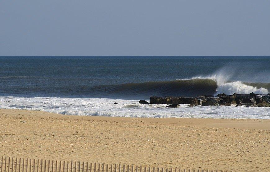Surfing Photos Belmar NJ January