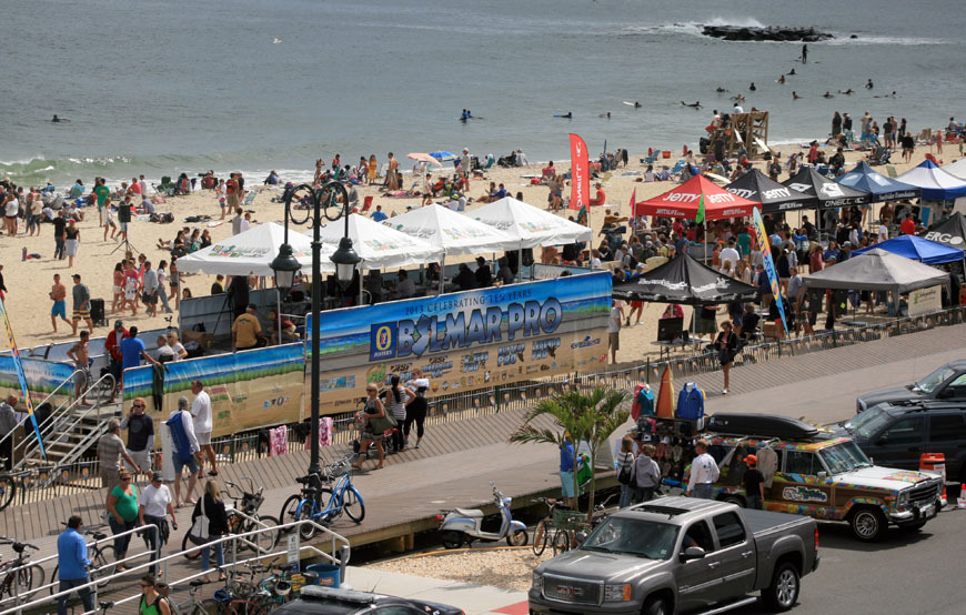 2013 Belmar Pro Surf Contest