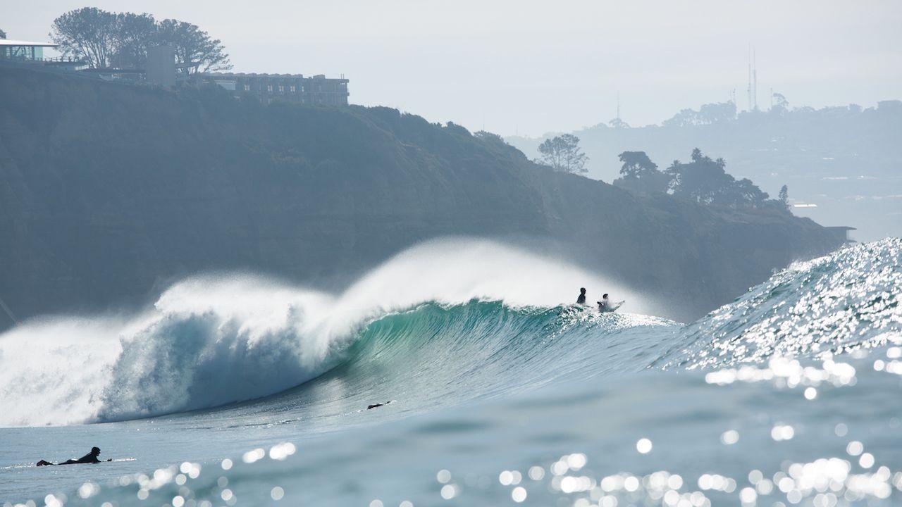 Blacks\' Beach Surfing San Diego