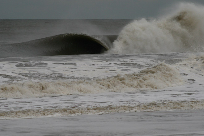 Sea Bright Surfing Doomsday Swell