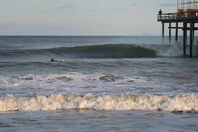 Surfing Seaside Heights Casino Pier