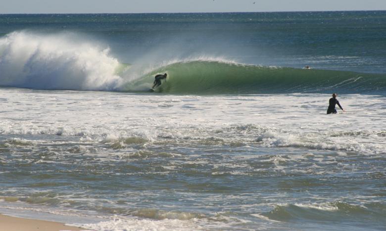 Surfing Seaside Park NJ