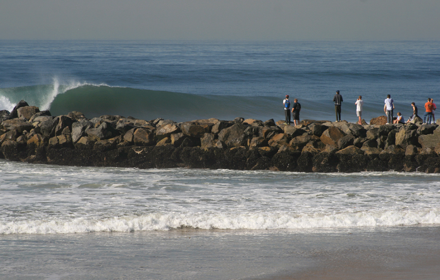 Huge Waves in Southern California