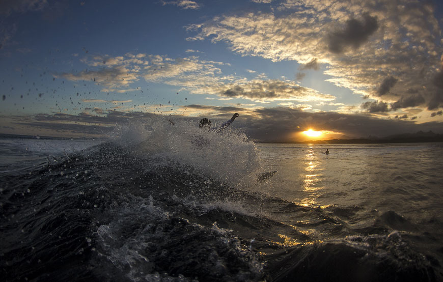 Fiji Surfing Photos