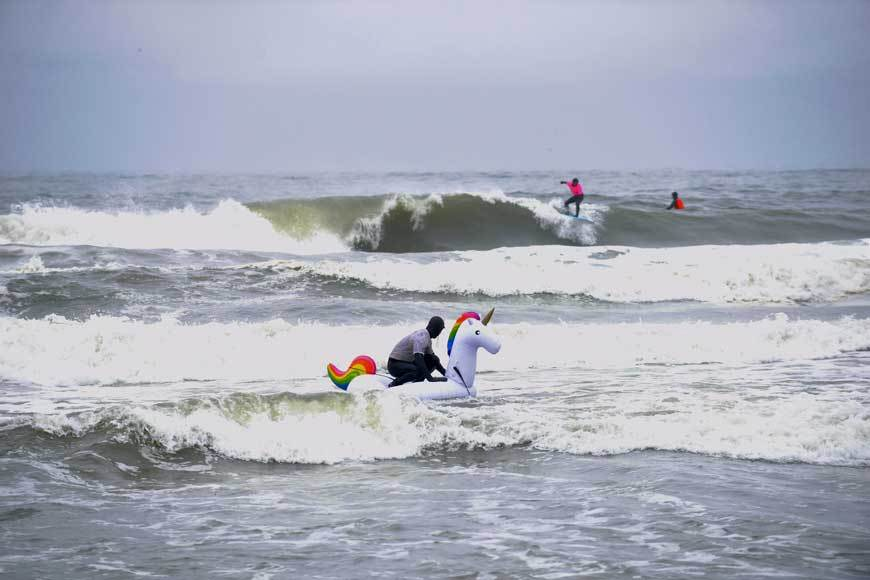 Foam Top Frenzy Surf Contest NY