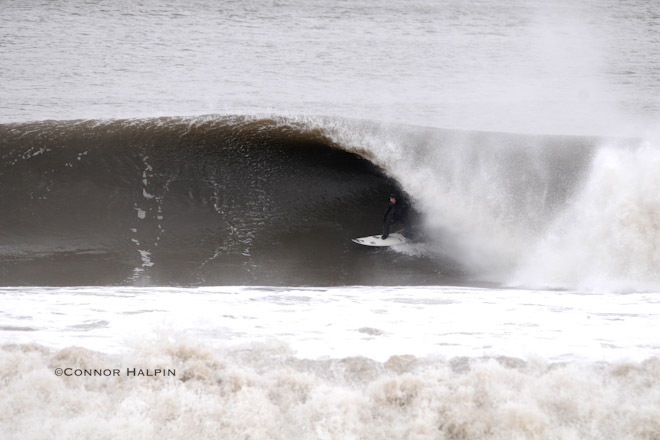Surfing Monmouth County Doomsday Swell