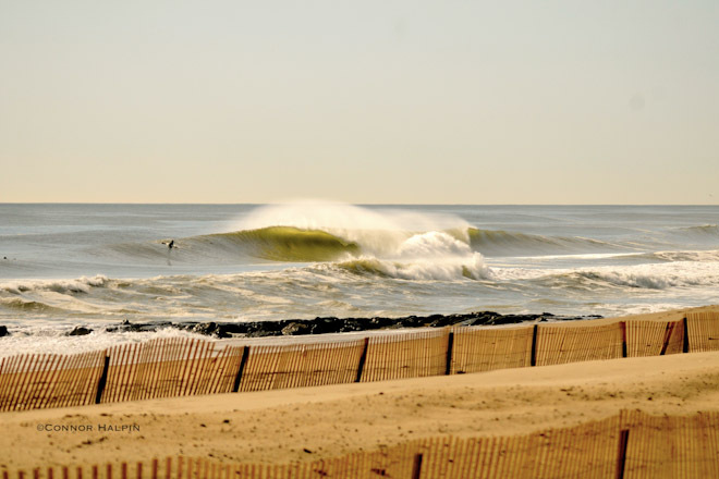 April Surfing in Belmar