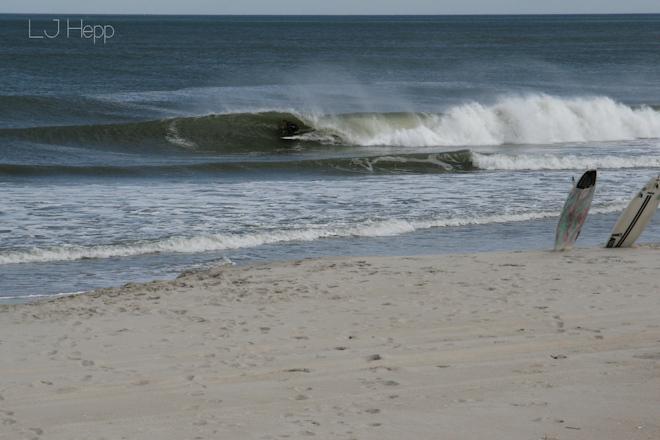 Surfing Photos Long Beach Island NJ