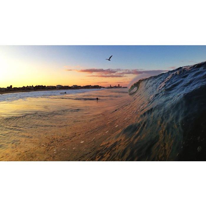 Hurricane Cristobal Surfing Pictures