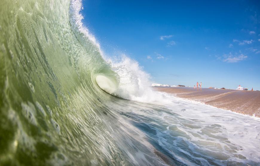 Wave Shorebreak Photos