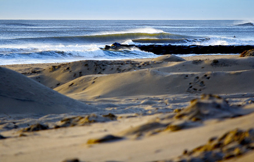 January Surfing In New Jersey