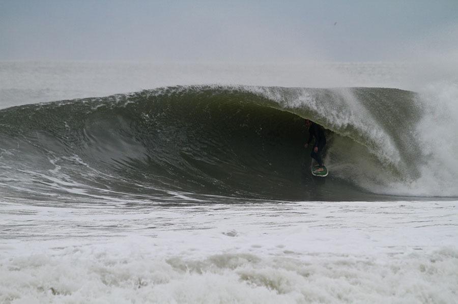 Surfing Seaside Heights NJ