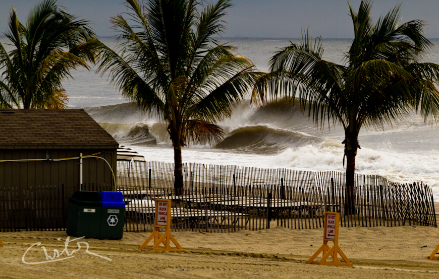Big Waves in New Jersey