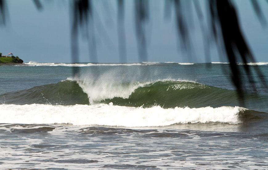 Surfing La Barra Nicaragua