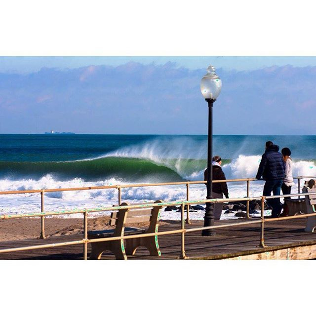 January Swell in New Jersey and New York
