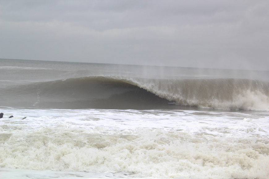 Surfing Bay Head NJ