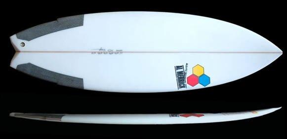 Weirdo Ripper Surfboard from Channel Islands