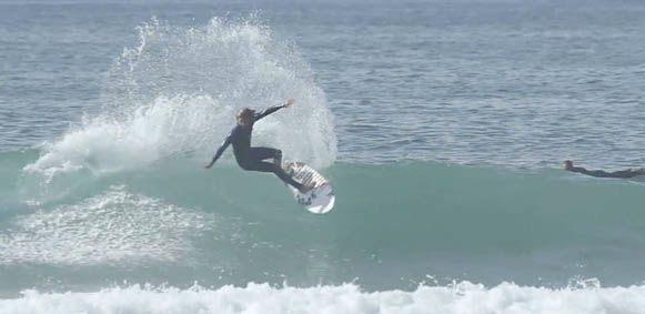 Dane Reynolds Surfing on the Weirdo Ripper Surfboard from Channel Islands