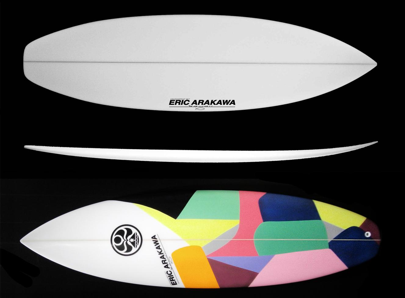 transformer hic eric arakawa surfboard