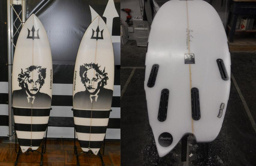 asymmetrical einstein surfboard windigo surfboards
