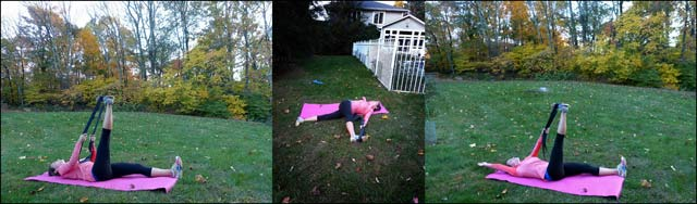 Surf Fitness: Lying Hamstring Stretch w Cross-Over