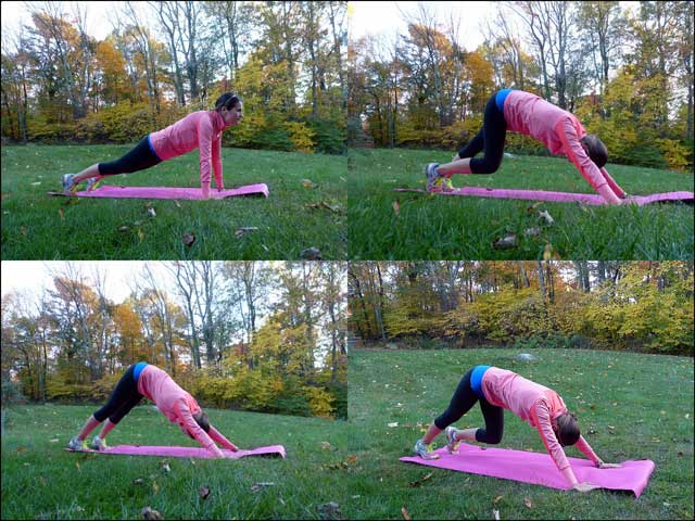 Surf Fitness: Downward Dog to Calf Stretch