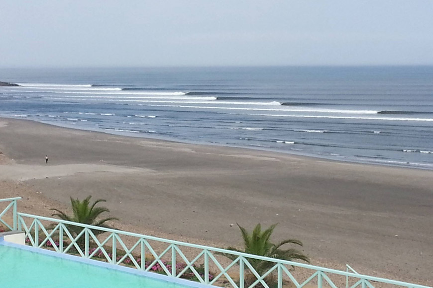 chicama peru longest left in the world wave surf clean