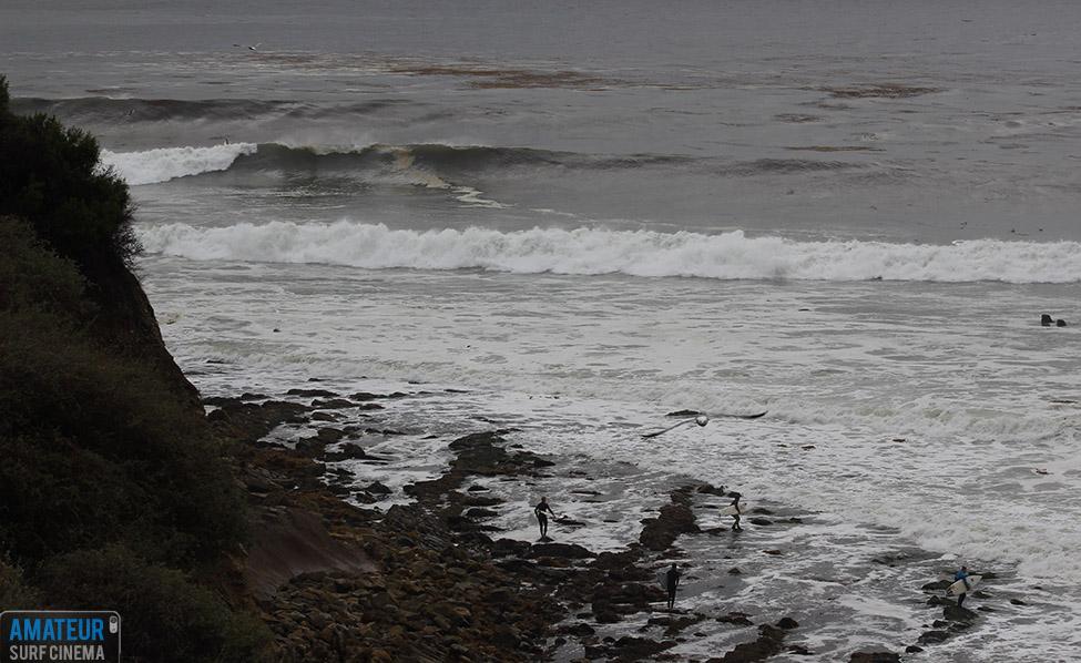 big surf in palos verdes on march 1st