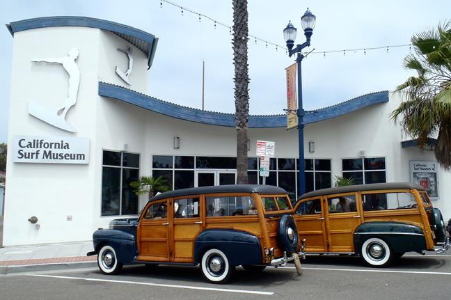 California Surf Museum Woodys Web