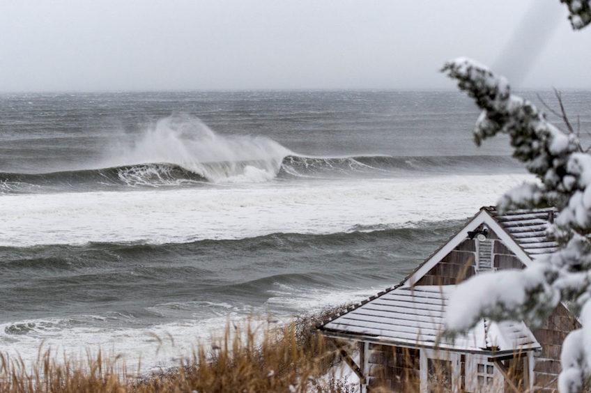Montauk Blizzard Beach Break photo Justin Burkle