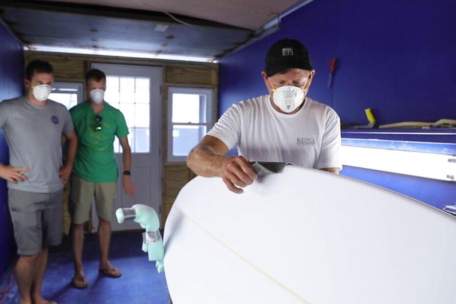 surfboard machine kona surf