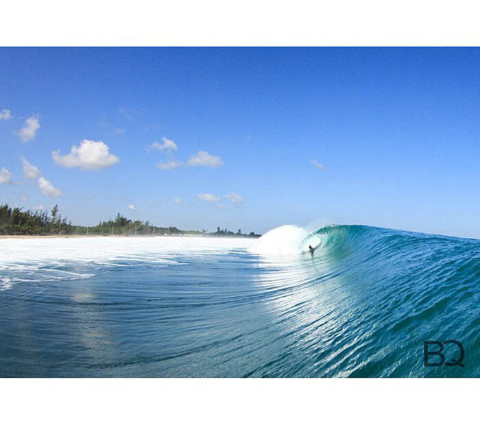 Hurricane Gonzalo Surfing Photos