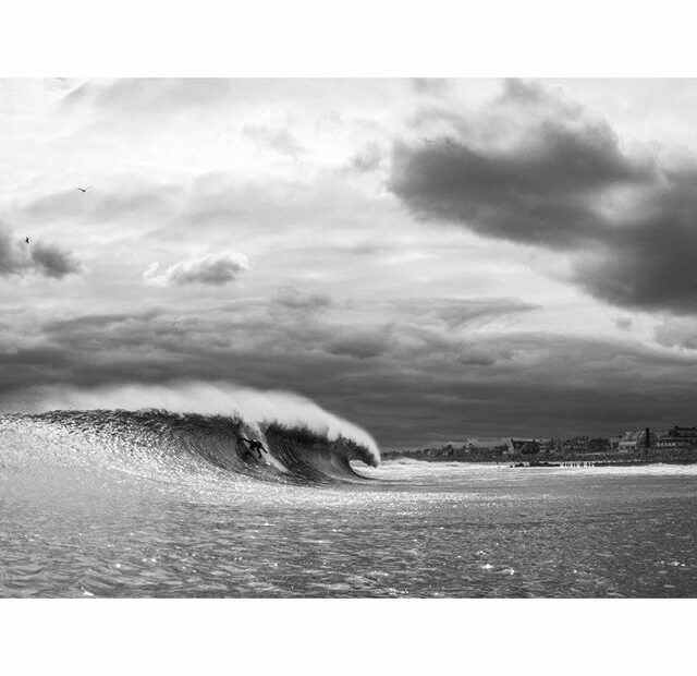 February Swell Winter Surfing NJ
