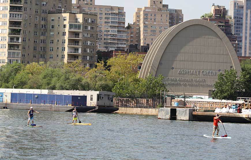 SEA Paddle NYC around Manhattan