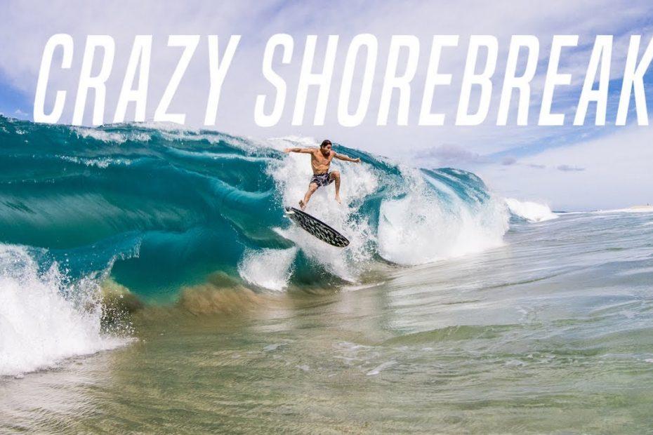 surfing hawaii shorebreak