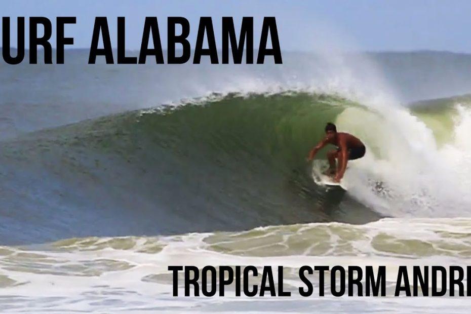 surfing big waves in orange beach alabama