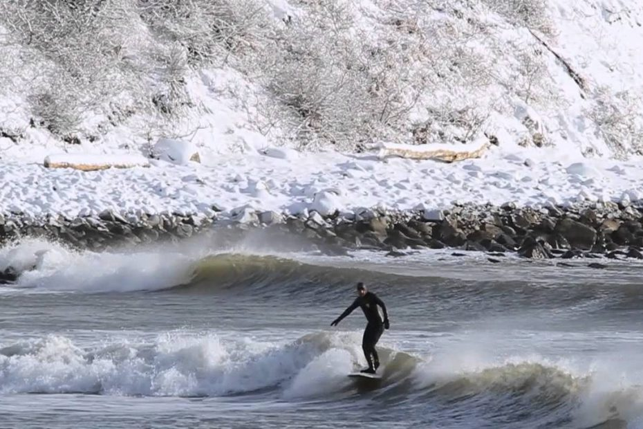Cold Water Surfing Maine