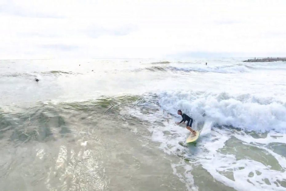 Surfing in Corpus Chrisi Texas