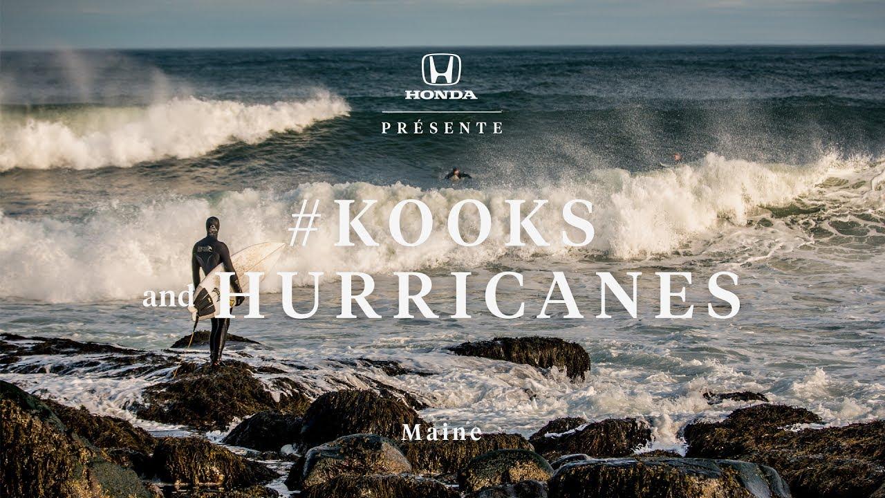 surfing hurricane in maine
