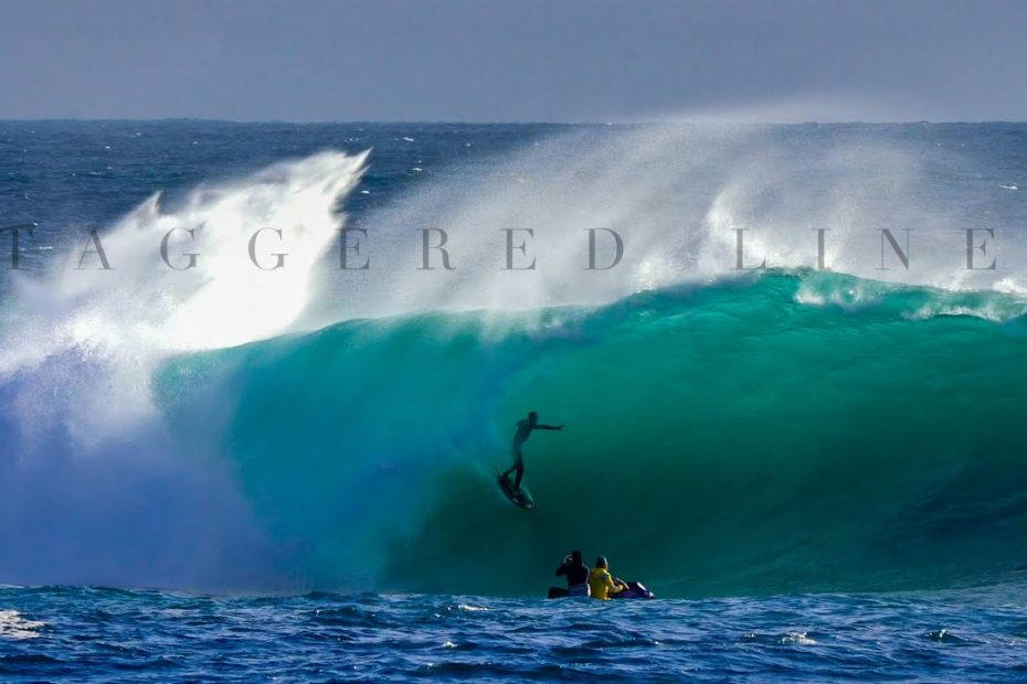 Staggered Lines Australia Surfing