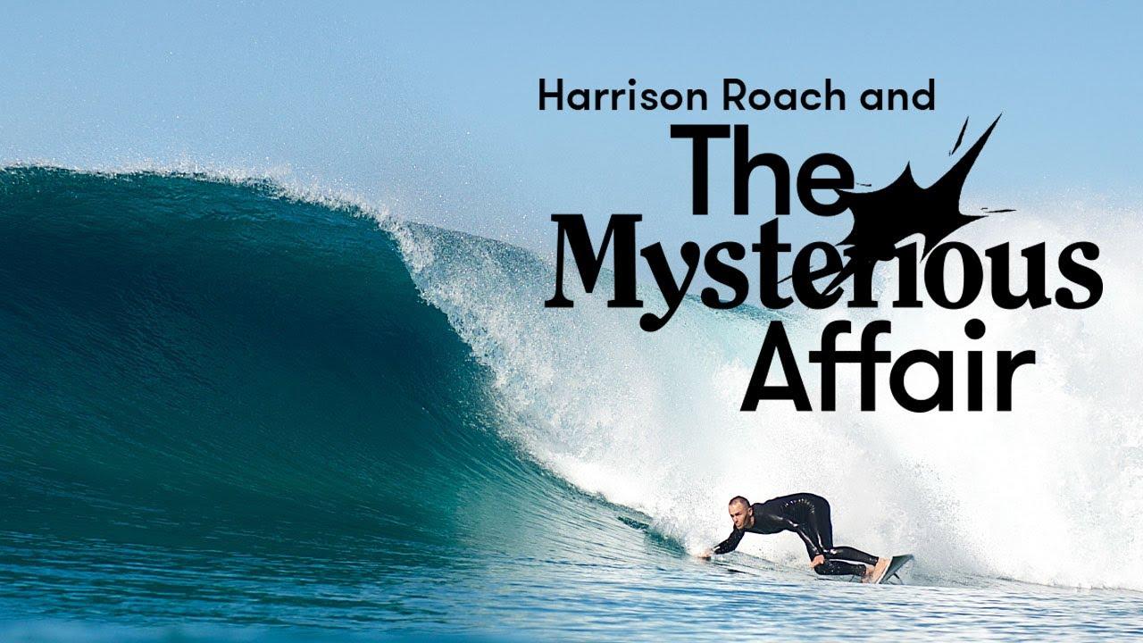 Surfer Harrison Roach