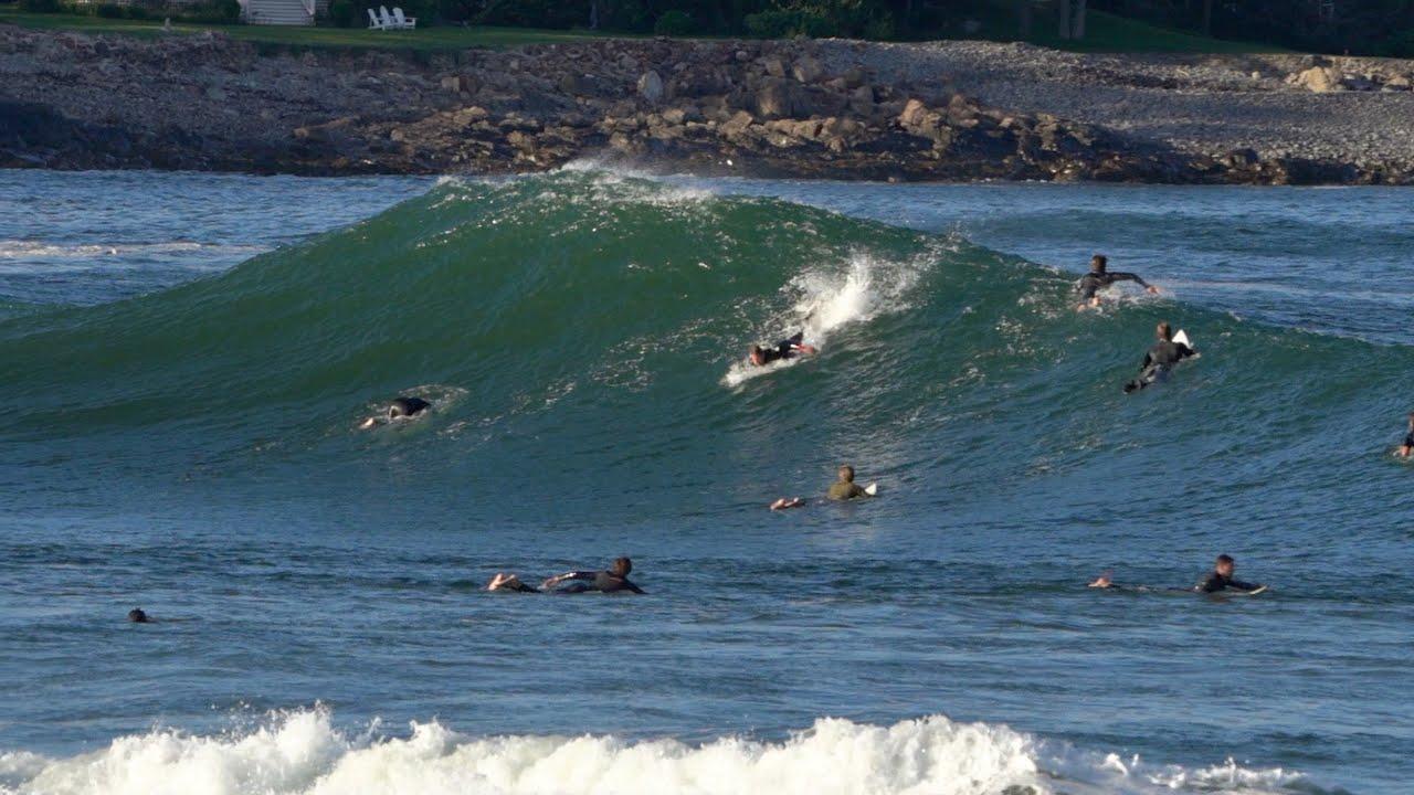 Surfing Hurricane Larry